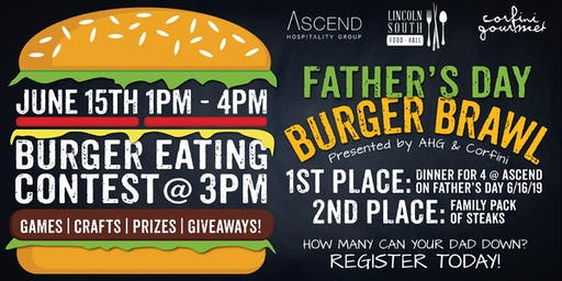 Father's Day Burger Brawl Presented by AHG and Corfini
