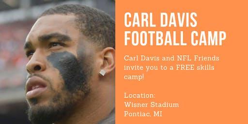 Carl Davis  Football Camp