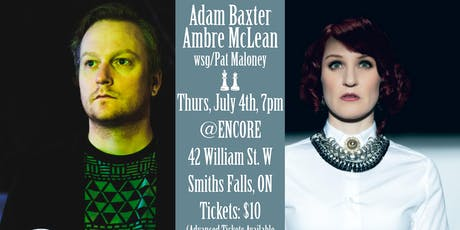 Ambre McLean & Adam Baxter play Smiths Falls tickets