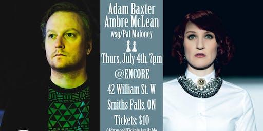 Ambre McLean & Adam Baxter play Smiths Falls