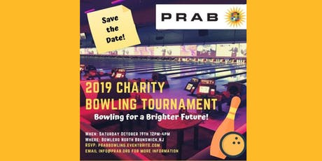 PRAB 2019 Charity Bowling Tournament tickets