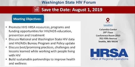 Washington State HIV Forum tickets