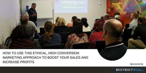 How To Use This Ethical, High Conversion Marketing Approach To Boost Your Sales And Increase Profits …Without You Feeling Pushy, Salesy Or Out Of Integrity!
