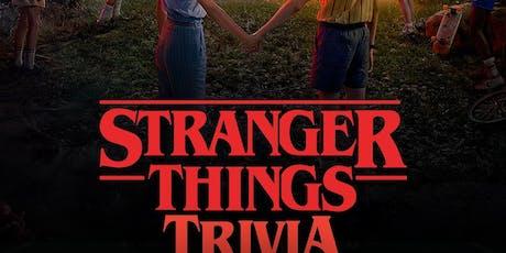 Stranger Things Trivia tickets