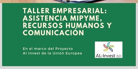 Taller Gratuito Empresarial SAN LORENZO: Asistencia MiPyme, RRHH y Comunicación entradas