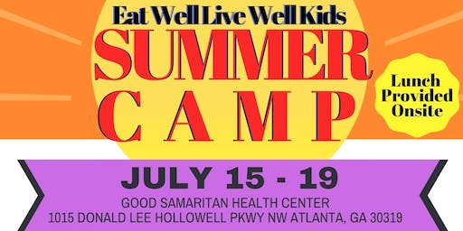 EAT WELL LIVE WELL Kids -Food. Farm. Fitness - Summer Camp
