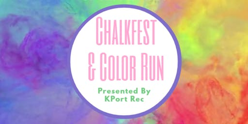Chalkfest & Color Run 5K to Benefit our Scholarship Fund
