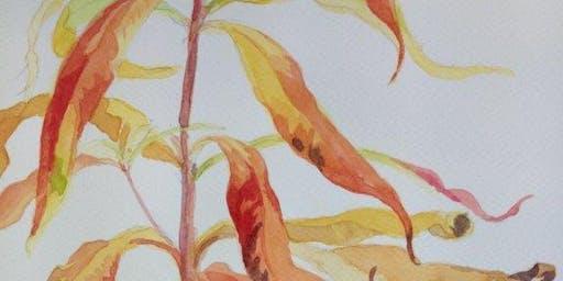 Watercolour workshop – Autumn colours