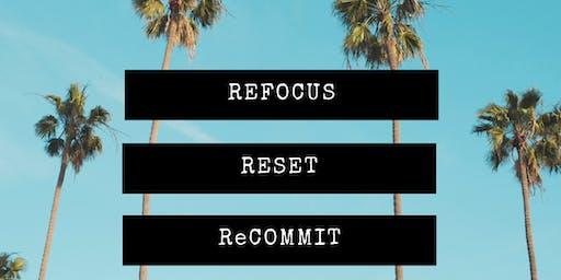 Refocus Reset ReCOMMIT Visionology Workshop