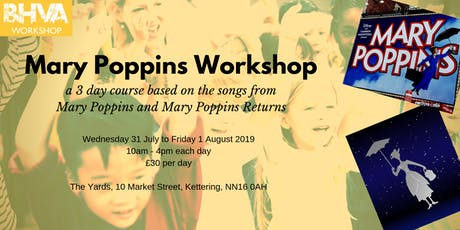 Mary Poppins Workshop tickets