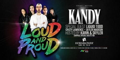LOUD & PROUD TOUR WORLD PRIDE 2019 YACHT PARTY CRUISE tickets