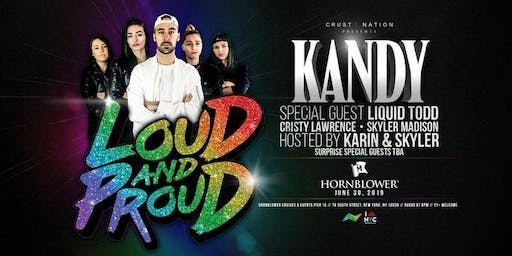 WORLD PRIDE 2019 YACHT PARTY CRUISE feat LOUD & PROUD TOUR