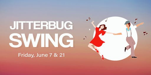 Jitterbug Swing Lessons (drop-in class - June)