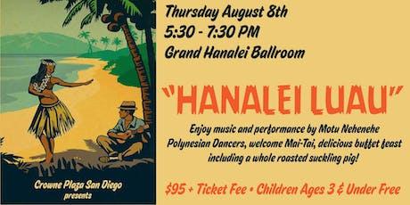 Hanalei Luau tickets