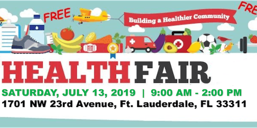 Free Community Health & Wellness Fair!!