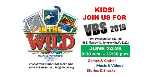 Vacation Bible School at First Presbyterian Church