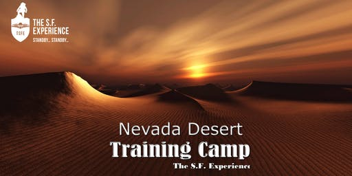 Nevada Desert Training Camp  16th - 23rd May 2020