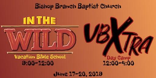 VBS and VBXtra at Bishop Branch Baptist Church