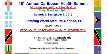 CARIBBEAN HEALTH SUMMIT 2019 tickets
