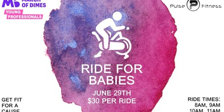 Ride for Babies @ Pulse Fitness tickets