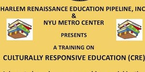 Culturally Responsive Education Training (CRE)