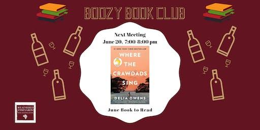 June Boozy Book Club Meeting at Weathered Vineyards Ephrata