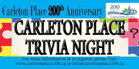 Carleton Place Trivia Night tickets