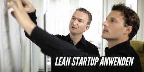 1-Tag-Workshop Geschäftsmodelle entwickeln mit Lean Startup Tickets