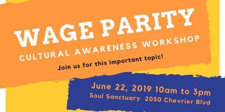 Cultural Awareness Workshop - Wage Parity tickets