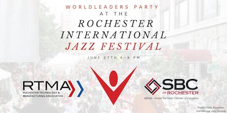 Worldleaders Party at the Rochester International Jazz Festival tickets