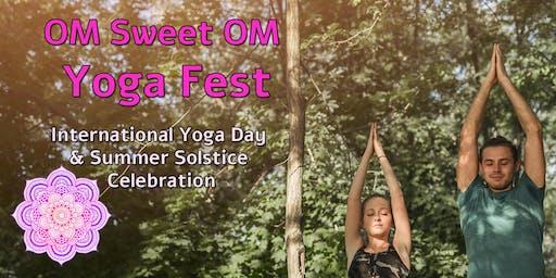 OM Sweet OM Yoga Fest