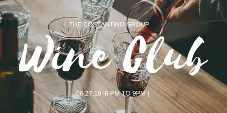 The Costantino Group Wine Club tickets
