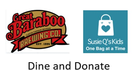 Great Baraboo  DIning Event - Susie Q's Kids tickets
