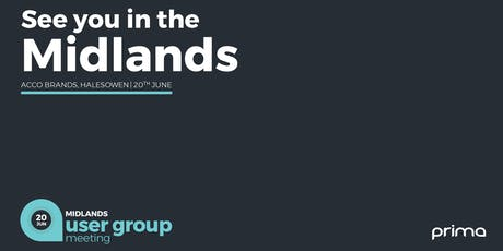Prima User Group Meeting, Midlands! tickets