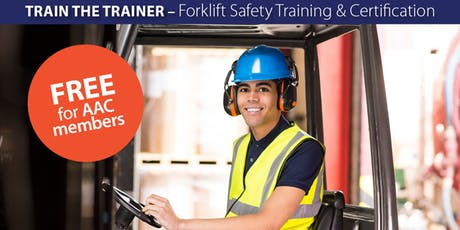 Train the Trainer - Forklift Safety Training & Certification (Spanish) tickets