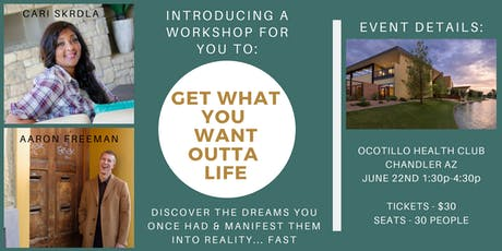 Get What You Want Outta Life tickets