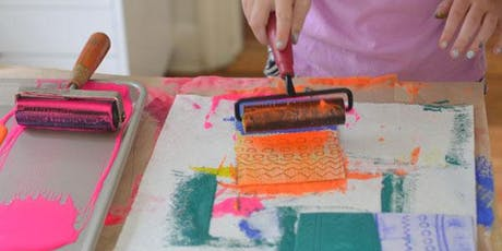 Summer art camp session 5: let's recycle tickets