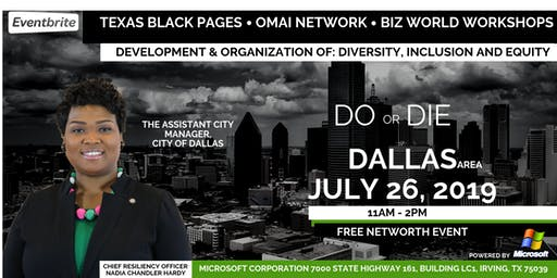 Development & Organization of: Diversity, Inclusion and Equity