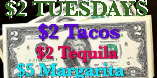 Mooneys Lounge Presents $2 Taco Tuesdays