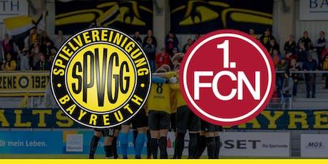 SpVgg Bayreuth vs. 1. FC Nürnberg  Tickets