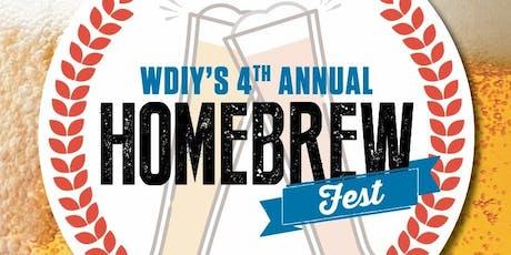 WDIY's 4th Annual Homebrew Fest tickets