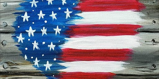 Love USA-Paint Night