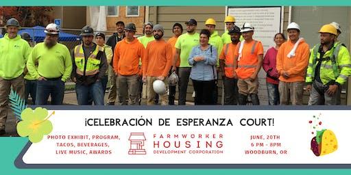 A celebration for Esperanza Court!