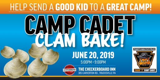 Camp Cadet Clam Bake