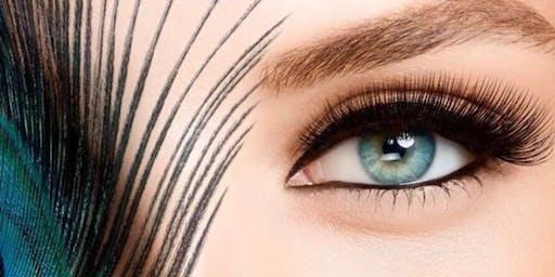 Clase de extensiones de pestanas pelo a pelo