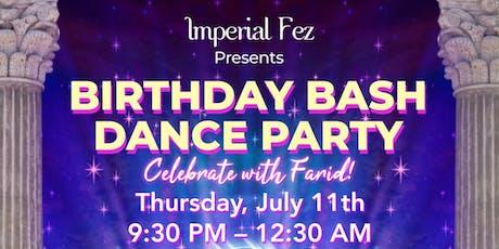 Birthday Bash Dance Party tickets