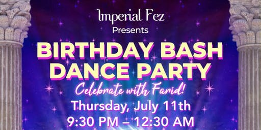 Birthday Bash Dance Party