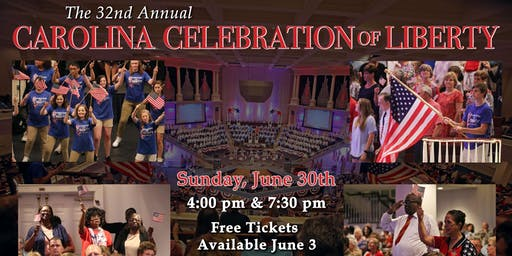 32nd Carolina Celebration of Liberty 7:30 PM
