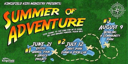 Kingsfield Kids Summer of Adventure