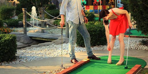Singles Mini Golf Tournament Age Teams A 23-38 and B 32-47